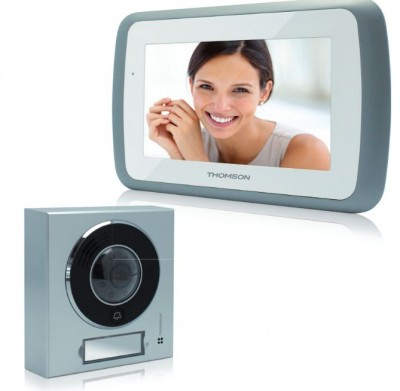 Interphone video couleur écran tactile 7