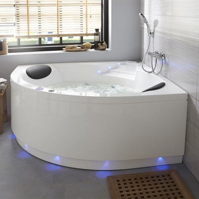 baignoire baln o d 39 angle limbo 140x140 sensation air pool. Black Bedroom Furniture Sets. Home Design Ideas