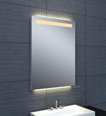 miroir dubai clairage led avec tablette en verre 60x80cm grenoble 38000 d stockage habitat. Black Bedroom Furniture Sets. Home Design Ideas