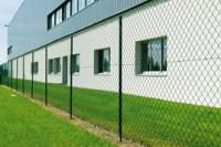 Poteau T Pro intermediaire vert 30x4 1.75m de longueur DIRICKX