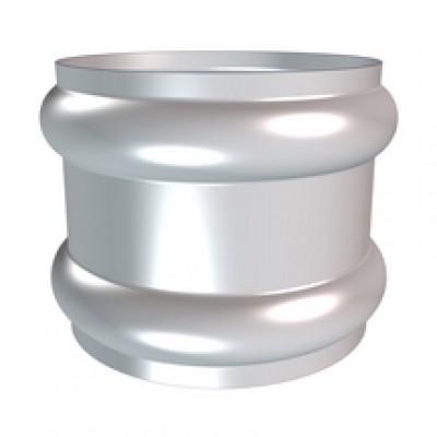 Bague double extensible anthra-zinc diamètre 80mm HILD