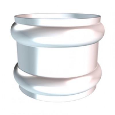 Bague double extensible inox diamètre 75/80mm HILD