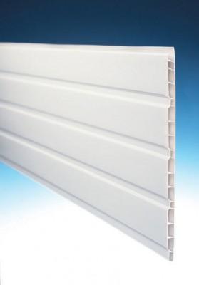 Lambris alvéolaire plancreux SE M1 blanc 10x250x4000mm MEP