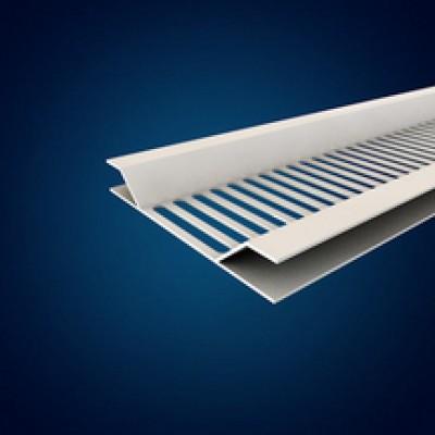 Profilé ventilation blanc 56x5000mm MEP