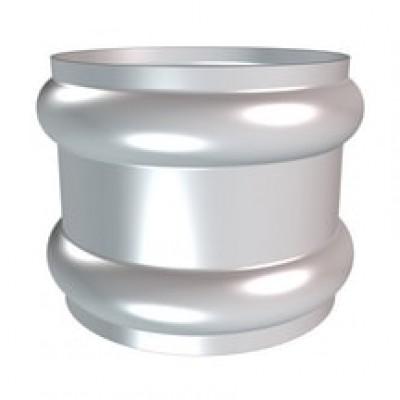 Bague double extensible anthra-zinc naturel diamètre 100mm HILD