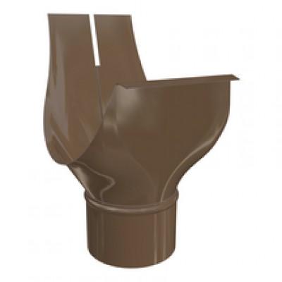Moignon ovale agrafable CHROMO brun 33/75 HILD