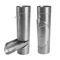 Récupérateur d'eau diamètre 100mm QTZ VMZINC