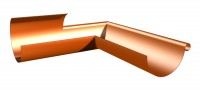 Equerre de croupe droit cuivre dév.25cm SCAF