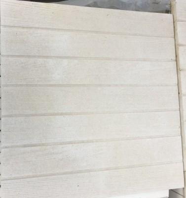 dalle de 7 lames de terrasse beige 50x50cm beaucouz 49070 destockage habitat. Black Bedroom Furniture Sets. Home Design Ideas