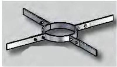 Collier à suspendre CAS180 POUJOULAT
