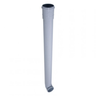 Dauphin sans joint coudé 1m gris 80mm NICOLL