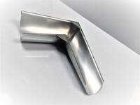 Equerre de croupe droite quartz zinc naturel développé 33