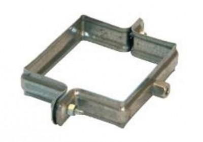 Collier galva carré 100x100mm 7/150 HILD