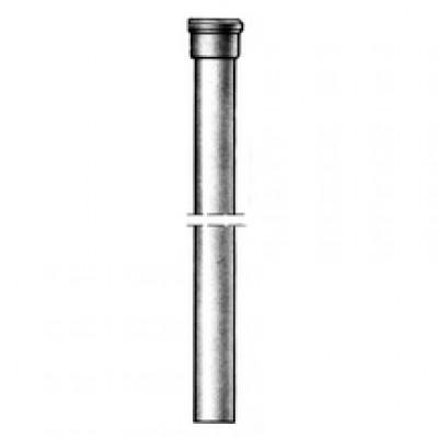Descente droite ronde emboîtement standard 2m diamètre nominal 75mm PONT A MOUSSON