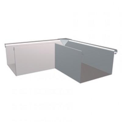 Equerre carrée zinc développé 40 extérieur HILD