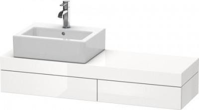 Plan de toilette FOGO 110x36cm gauche DURAVIT