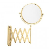 Miroir mural grossissant doré GRX5 TECTUR SANIBLOC