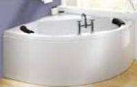 Baignoire acrylique TAMINO gauche blanc 150x100cm SPRING
