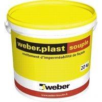 Enduit WEBER.PLAST souple beige pale 252T 20kg