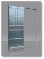 Châssis DOORTECH simple 100/54 plaque de plâtre 100x203 kit de finition koto SCRIGNO