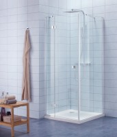 Paroi de douche de retour DOMINO 80cm