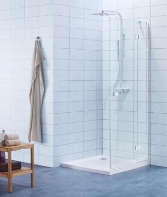 Paroi de douche DOMINO pivotante pliante droite 100cm