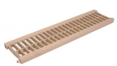 Grille PVC légère 200 sablé NICOLL