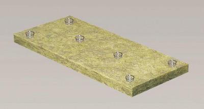 Laine de roche nu ROCKFEU SYSTEM 130mm 2,4x0,6m ROCKWOOL