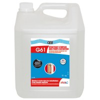 G61 détartrant s'emploie avec pompe 5 litres GEB