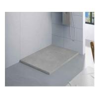 Receveur KINEROCK gris pierre 120x80cm BLANC