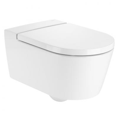 wc suspendu inspira round rimeless blanc roca nanteuil les meaux 77100 destockage habitat. Black Bedroom Furniture Sets. Home Design Ideas