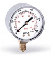 Manomètre pour gaz MG 60-100 WATTS EUROTHERM