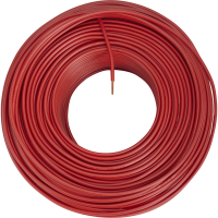 Fil H07V-R le ml 16mm rouge DEBFLEX