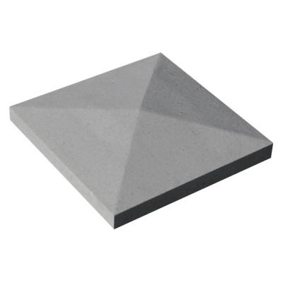 Chapeau pointe de diamant 32x32cm gris WESER