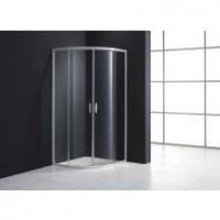 Paroi de douche 1/4 de rond MEZZO de 77 à 79cm verre transparent