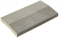 Chaperon 2 pentes gris 99x30x4cm WESER