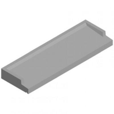 Appui de fenêtre gris 35x140cm  EUROBETON INDUSTRIE