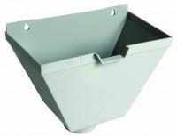 Boîte à eau gris descente diamètre 100mm NICOLL