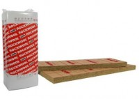Laine de roche kraft ROCKMUR 100 1,35x0,6m ROCKWOOL