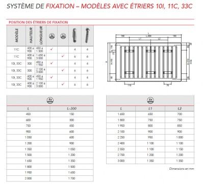 radiateur eau chaude reggane 3000 type 33c horizontal. Black Bedroom Furniture Sets. Home Design Ideas