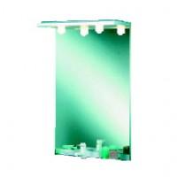 Miroir LUMIBLOC halogène 80cm blanc AQUARINE