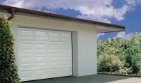 Porte de garage sectionnelle EUROPRO SP K7 W blanc serrure 2000x2500mm TUBAUTO