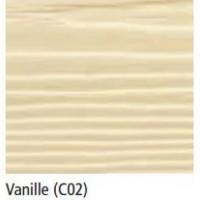 Bardage fibre ciment Cédral Click classic vanille C02 12x180x3600mm soit 0.648m2