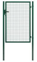 Portillon ECO garden + fer vert RAL 6005 - 1,75x1m  DIRICKX