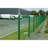 Panneau AXIS maille 200x50mm vert 2.48x2.00m DIRICKX