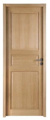 Bloc-porte chêne intemporel CLASSIQUE huisserie 90mm 204x83cm droite