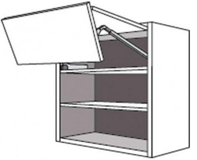 Porte pliante TWIST anthracite 34,7x59,7cm