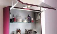 Armoire de toilette INFINY graphite largeur 60cm