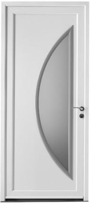 Porte PVC PAIMPOL UD 1.7 avec barillet 215x90cm gauche