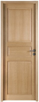Bloc-porte chêne intemporel CLASSIQUE huisserie 90mm 204x83cm poussant gauche